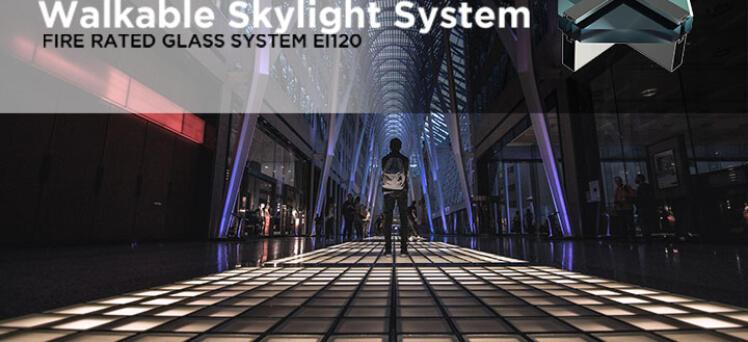 Tecfire's Skylight in Barcelona