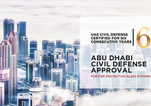 Abu Dhabi Civil Defense Renewal