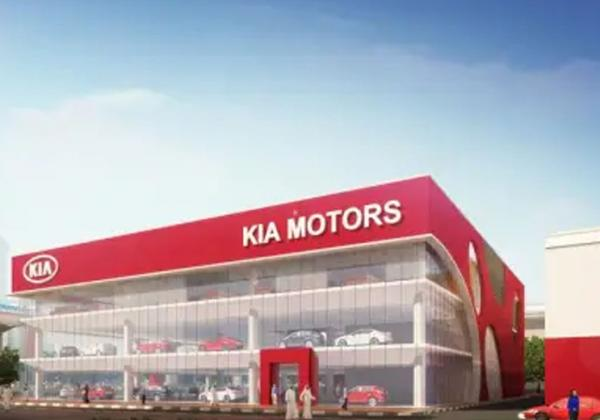 New Project: KIA Showroom Dubai