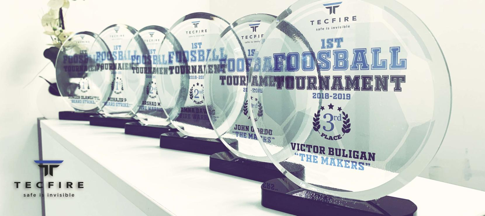 TECFIRE 1st Foosball Tournament
