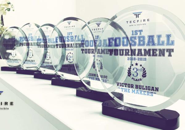 TECFIRE Premier Tournoi de Foosball