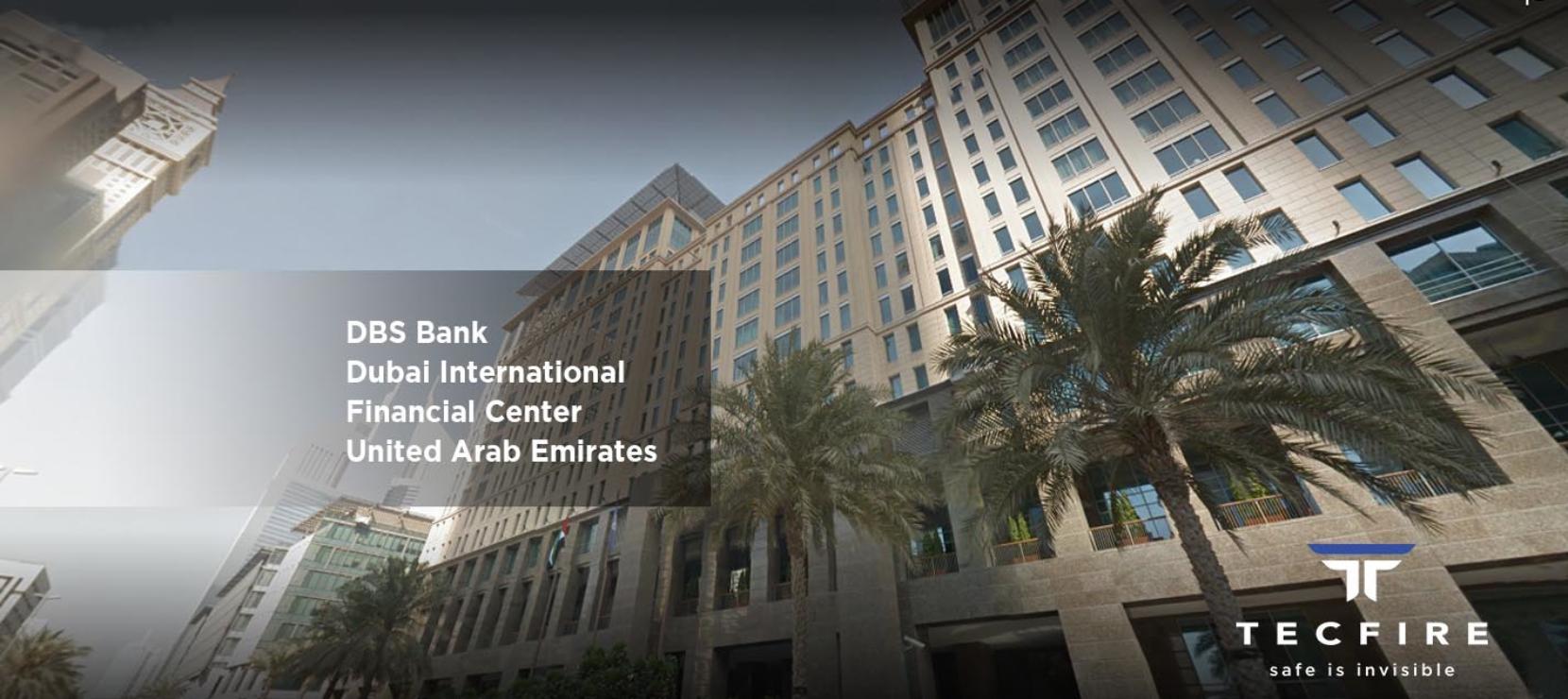 DBS DIFC Dubai Project