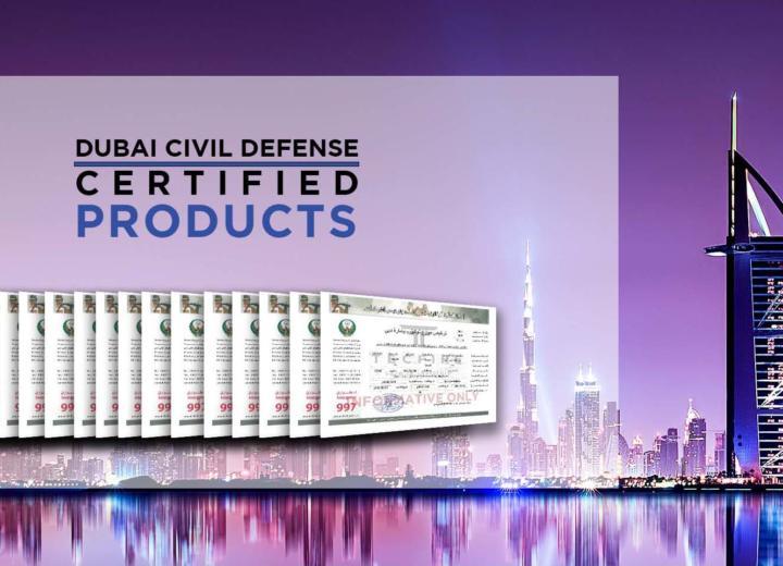 Renouvellement de la Défense Civile de Dubaï