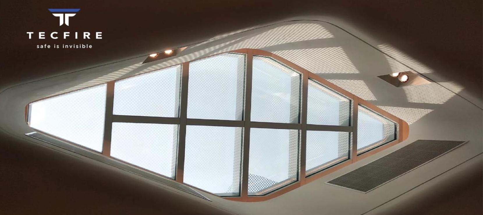 Fire-rated Walkable Skylight