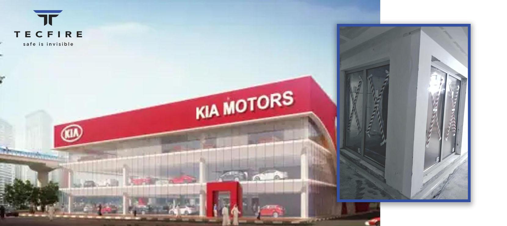 In Progress: Kia Car Showroom