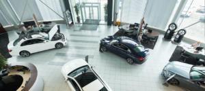 Luxury Car Showroom in Doha