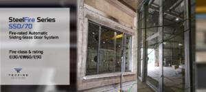 The New Steel Auto-Sliding Door