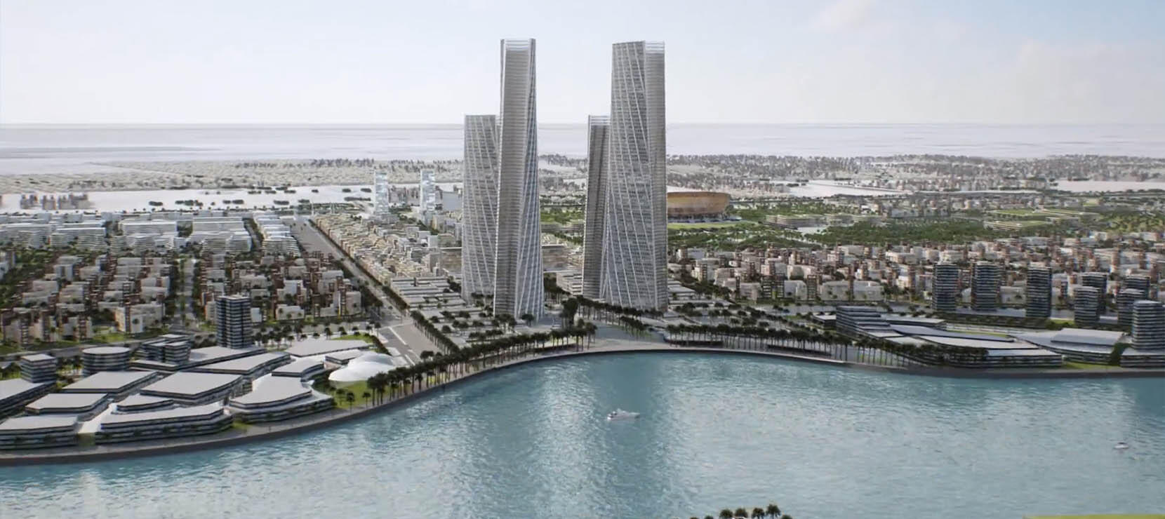 Newly Awarded Project at Lusail City, Qatar