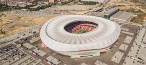 Another Iconic Project: Football Stadium Wanda Metropolitano